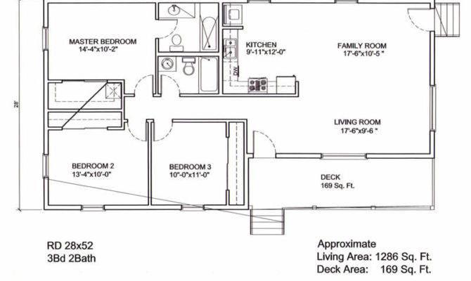 Ranch Style Floor Plans House Cape Cod