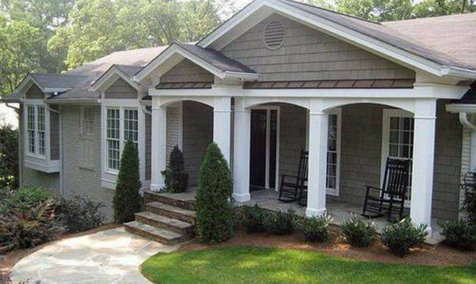 Ranch Style Homes Patio Ideas