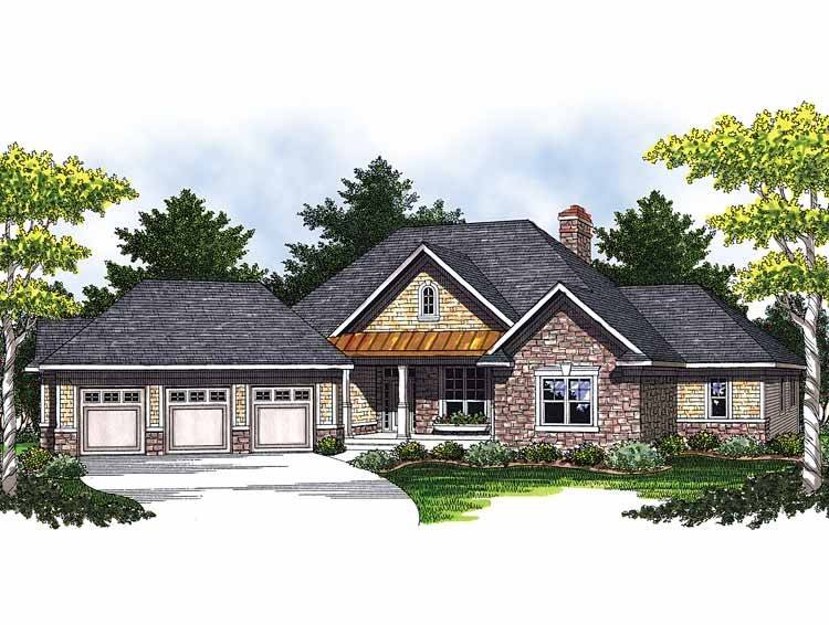 Ranch Style House Plans Angled Garage Search Results