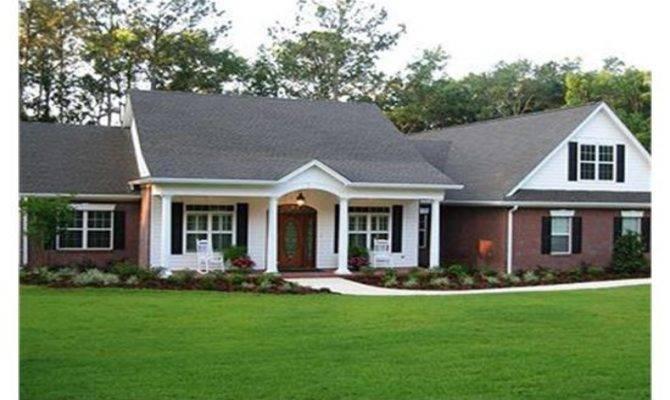 Ranch Style House Plans Porches Unique