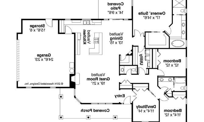 Ranch Style House Plans Side Garage Home