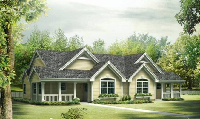 Ranch Style House Plans Wrap Around Porch Floor