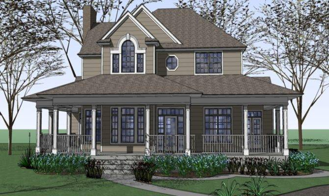 Ranch Style House Plans Wrap Porch Raised