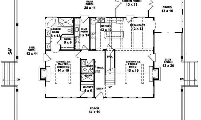 Ravenna Run Acadian Style Home Plan House