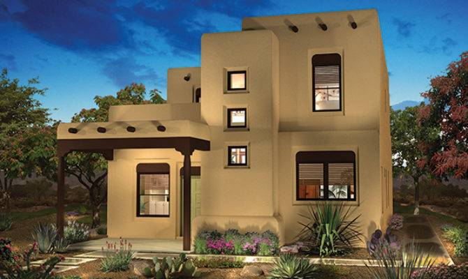 Raylee Homes Spanish Eclectic Pueblo Revival