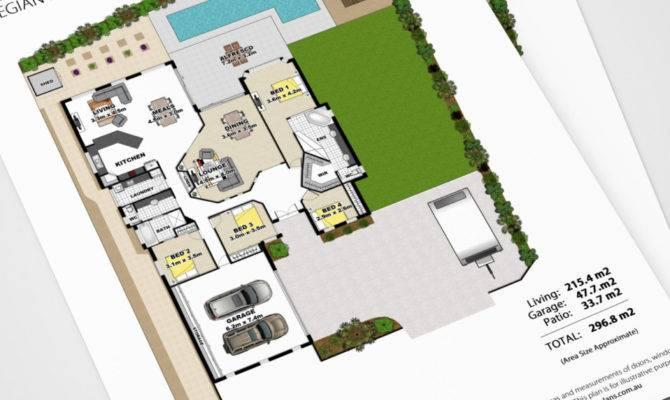 Real Estate Floor Plan Peregian Springs