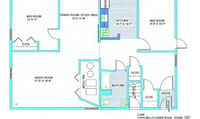 Real Estate Floor Plans Classy Office Case