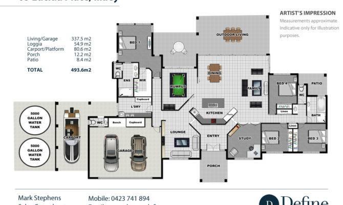 Real Estate Floor Plans House Sunshine Coast