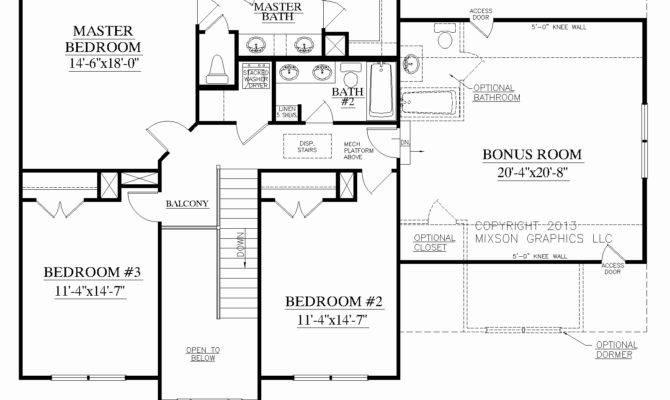 Rear Garage House Plans Apartments Floor Plan