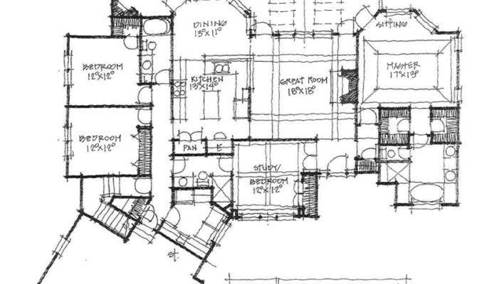 Rear Garage House Plans Simple