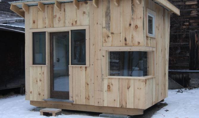 Reclaimed Tiny House Built Students