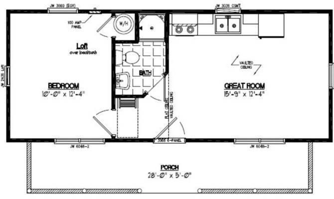Recreational Cabins Cabin Floor Plans
