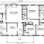 Rectangular House Floor Plans Homes