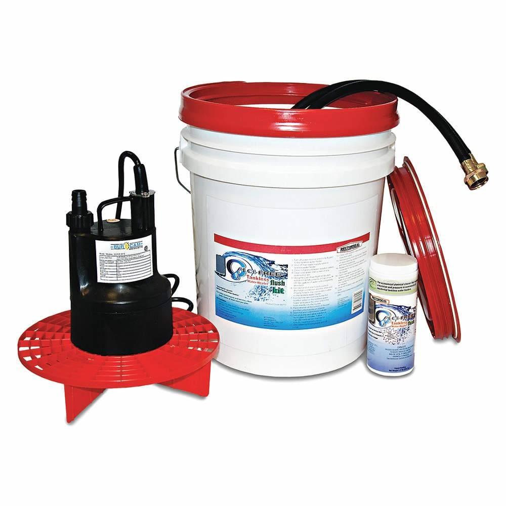 Rectorseal Plastic Tankless Water Heater Flush