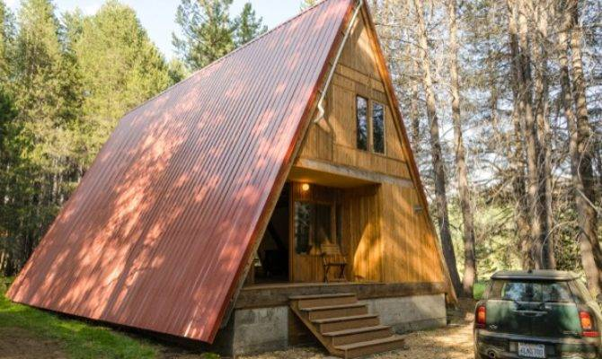 Red Frame Cabin Your Small Space Dream Tiny