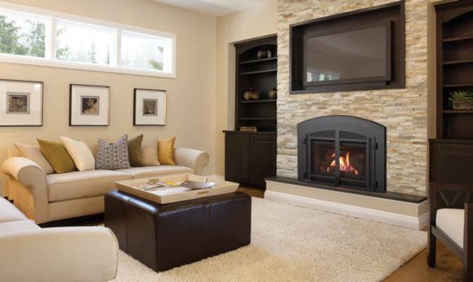 Regency Liberty Gas Fireplace Insert Contemporary