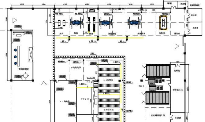 Related Auto Repair Shop Layout Plans