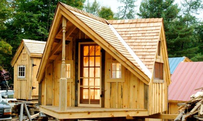 Relaxshacks Six Plan Sets Tiny Houses Cabins