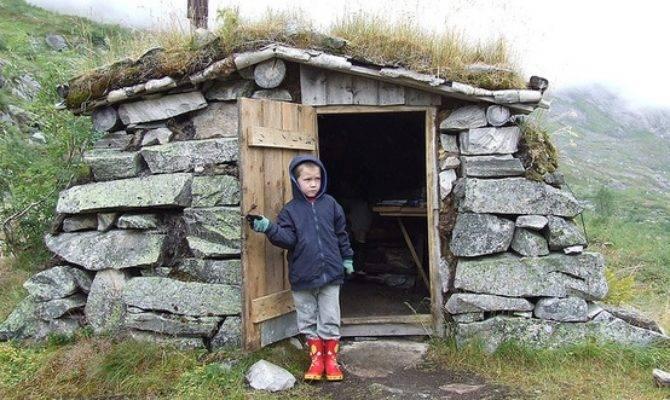 Relaxshacks Tiny Underground House Norway