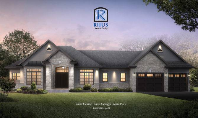 Renderings Home Designs Custome House Designer Rijus