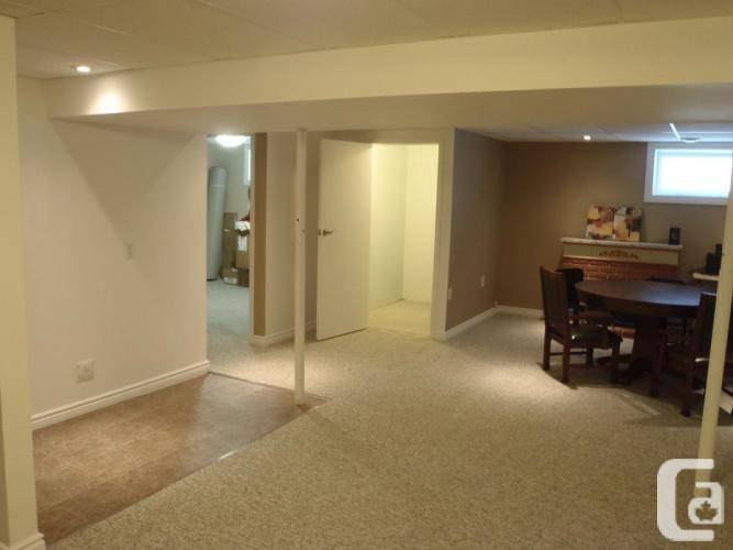 Renovated One Bedroom Basement Suite Rent Utilities Include