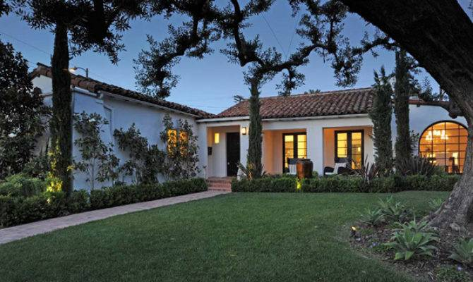 Renovated Spanish Ranch Home West Hollywood Real Estate