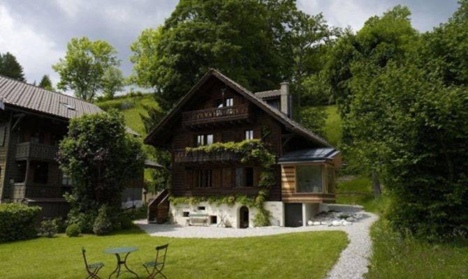 Renovation Century Old Chalet Swiss Alps Digsdigs