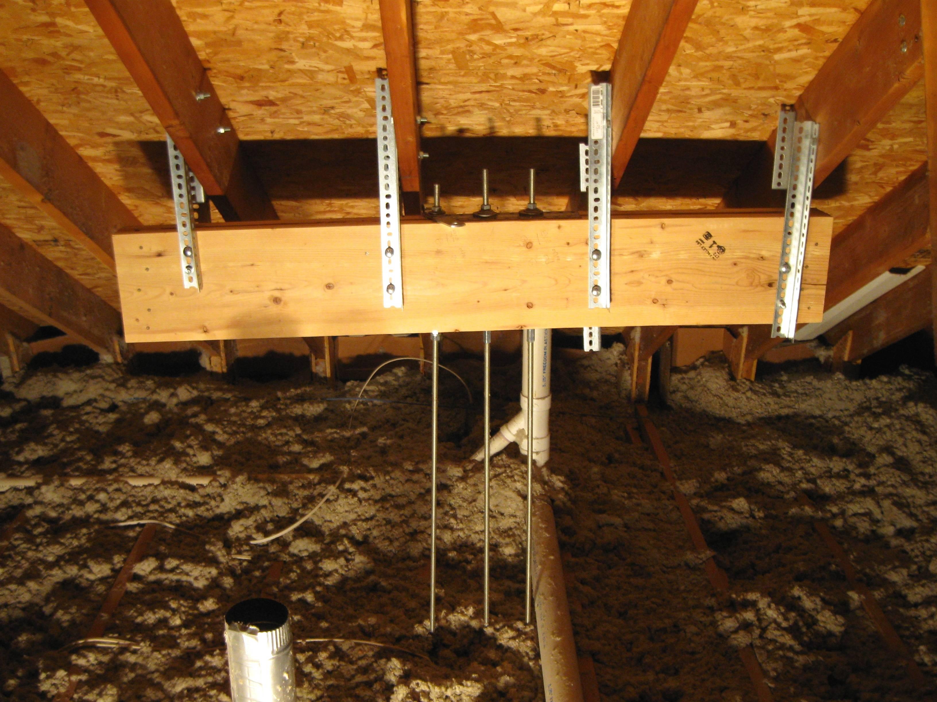 Repair Made Second Floor Laundry Room Reduce