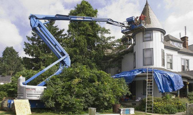 Replacing Turret Roof Our Victorian Home Tower