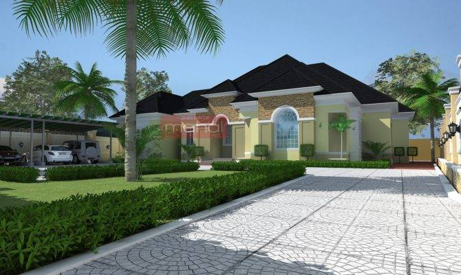 Residential Architecture Luxury Bedroom Bungalow Ido Type