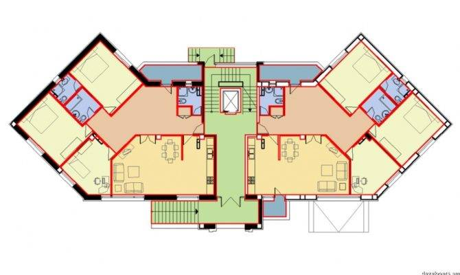 Residential Building Floor Plans House