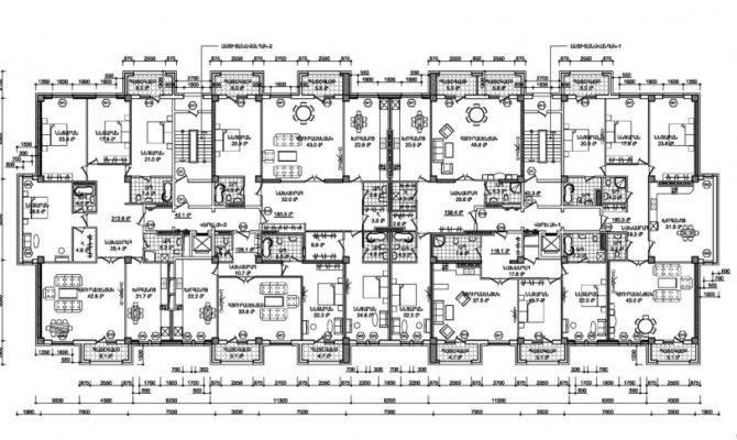 Residential Buildings Plans Homes Floor