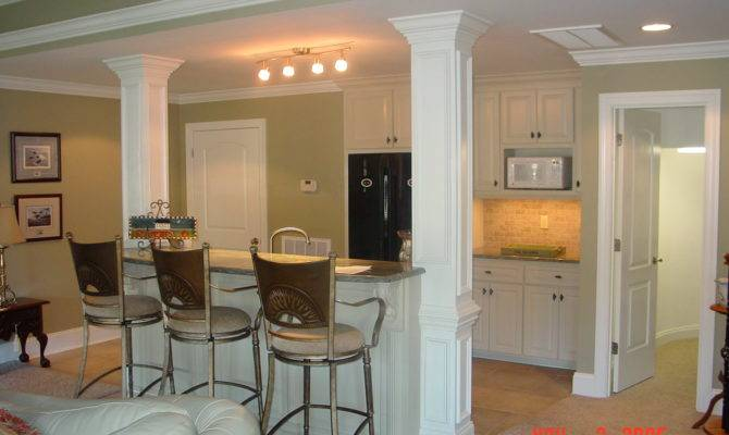 Residential Finished Basements Small Kitchen Basement