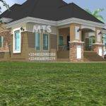 Residential Homes Public Designs Ibekwe Bedroom Bungalow