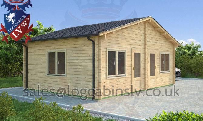 Residential Type Multi Room Log Cabin
