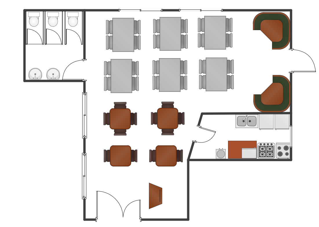 Restaurant Floor Plans Samples Design