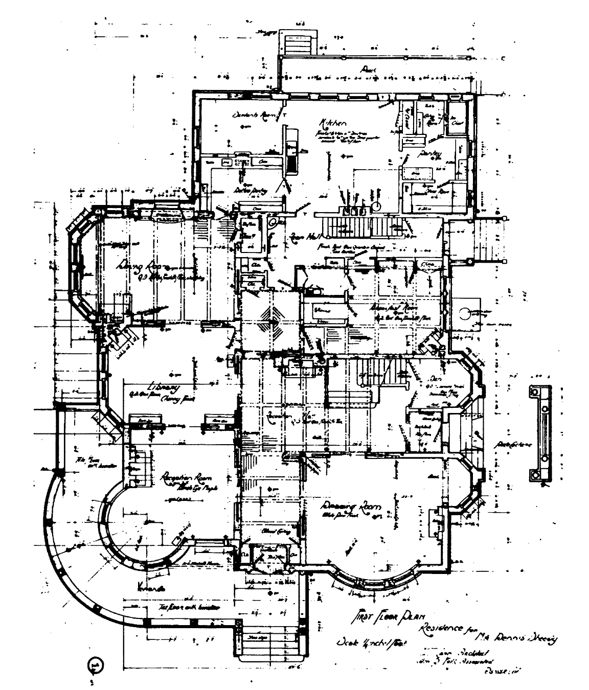 Richardson Romanesque House Plans