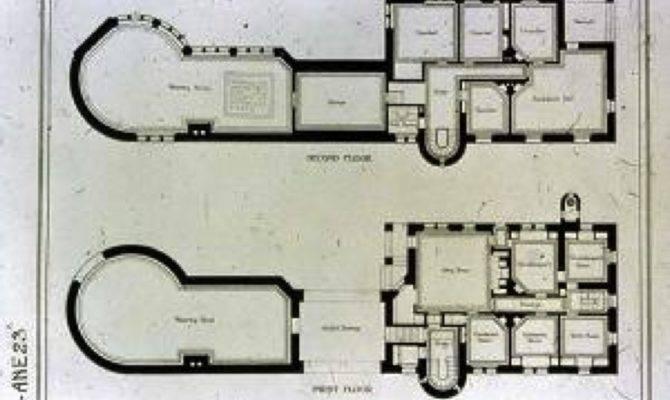Richardsonian Romanesque House Plans Ames Gate