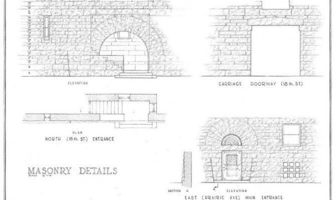 Richardsonian Romanesque House Plans Henry Hobson