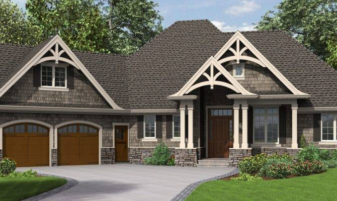 Ripley Single Story Craftsman House Plan Tons