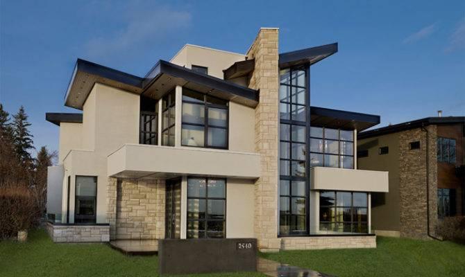 Riverview Custom Homes Showhome Contemporary Exterior