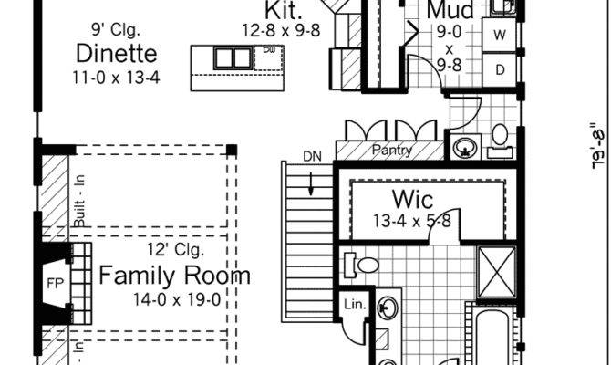Roanoke Rapids Ranch Home Plan House Plans