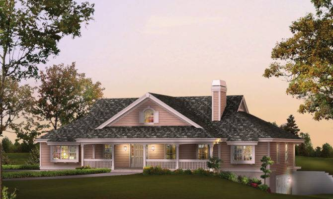 Rochelle Bay Country Home Plan House Plans More
