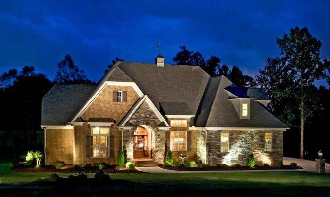 Rock Exterior House Plans Home Design Style