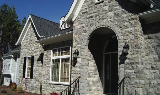 Rock Siding Homes Exterior Stones