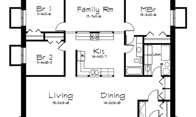 Rockspring Hill Berm Home Plan House Plans
