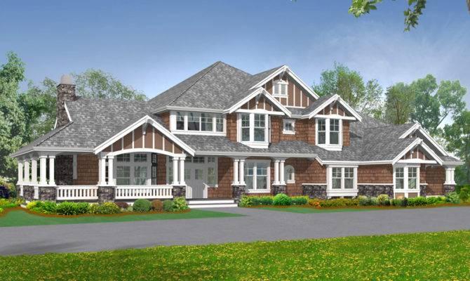 Rocktrail Luxury Rustic Home Plan House Plans