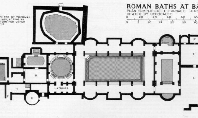 Roman Baths Plan Get Domain Getdomainvids