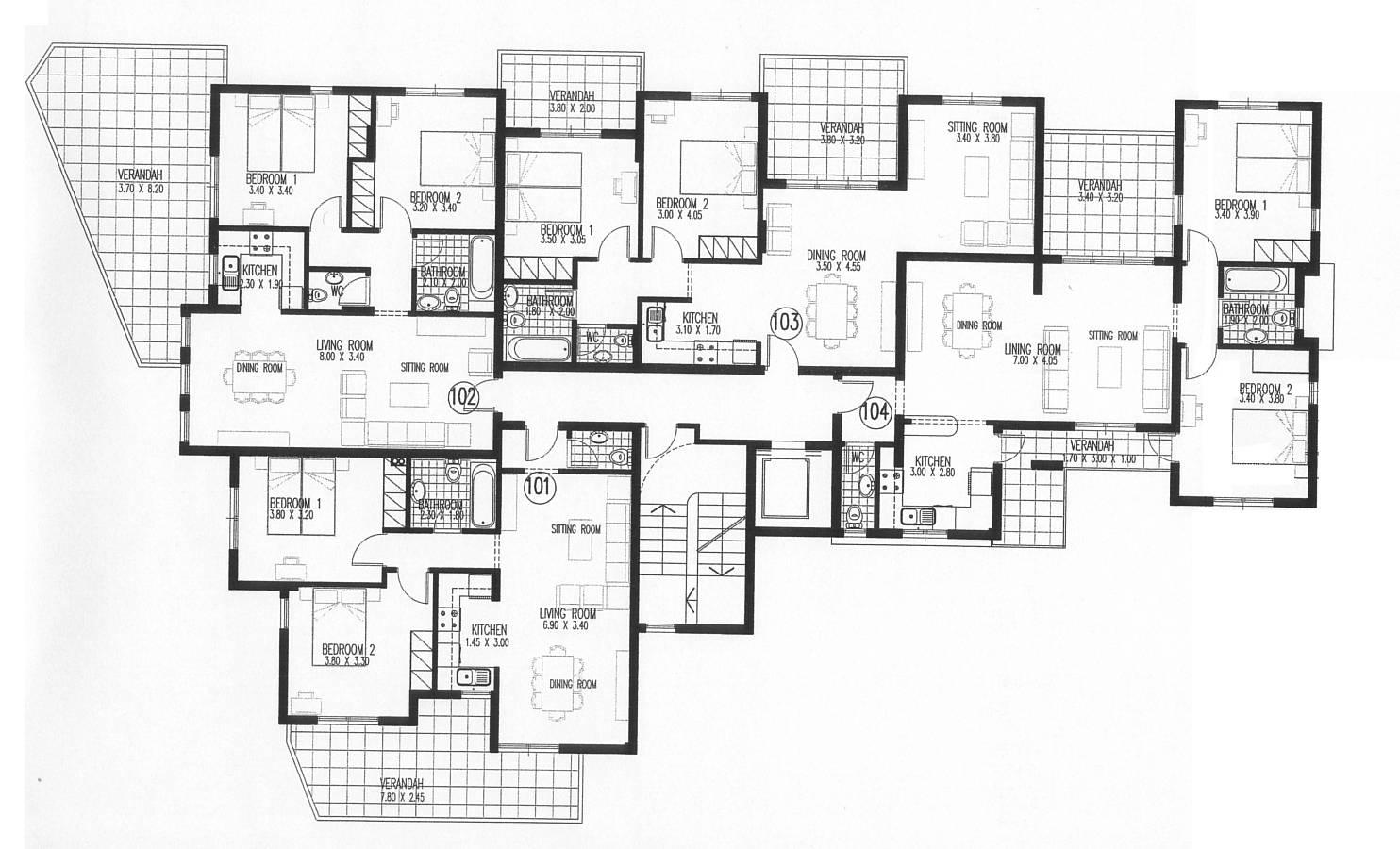 Roman Floor Plans Home Design
