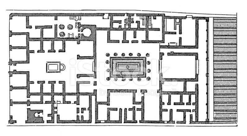 Roman House Plan Escortsea